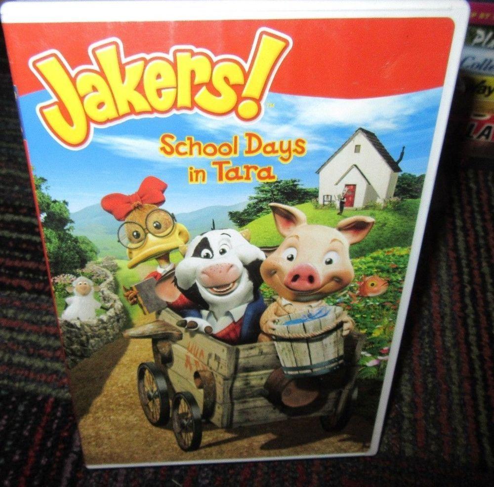Jakers!: School Days In Tara Dvd, Piggley Winks