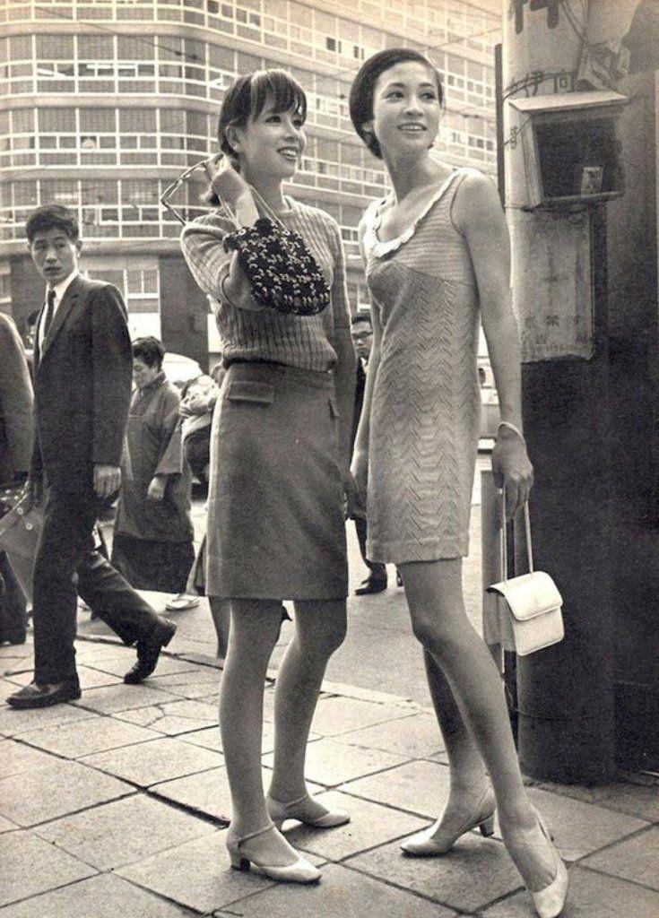 Tokio, Japón (década de los 60). | 日本人モデル, 1960年代 ...