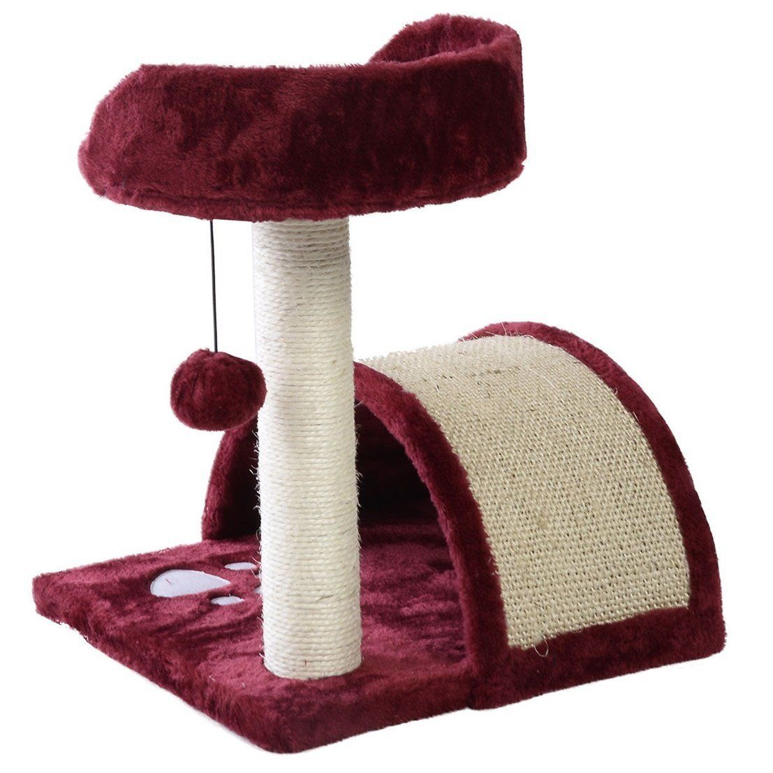 Optimal Popular 18 Cat Tree High Stability Kittens Pet Play Level Condo Color Wine Want Additional Info Click On The Image T Cat Tree Cat Activity Pets