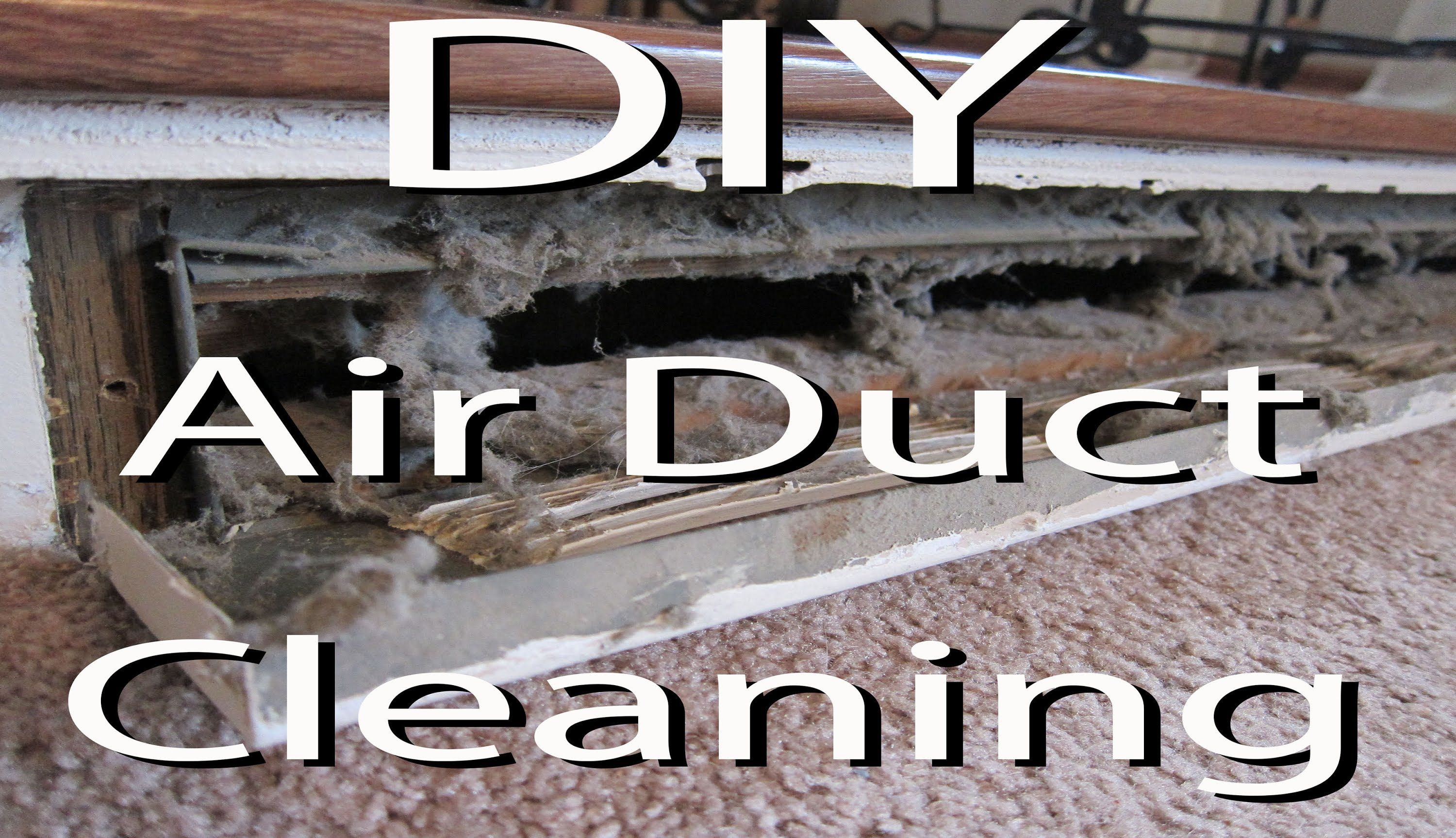 Video to show you how you can clean your own air ducts for