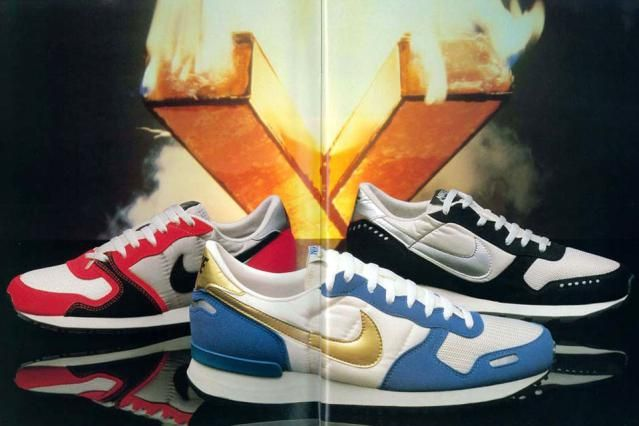 newest 1719d 4af34 The 8 Coolest Running Shoes of the 1980s Nike V Series – 1985