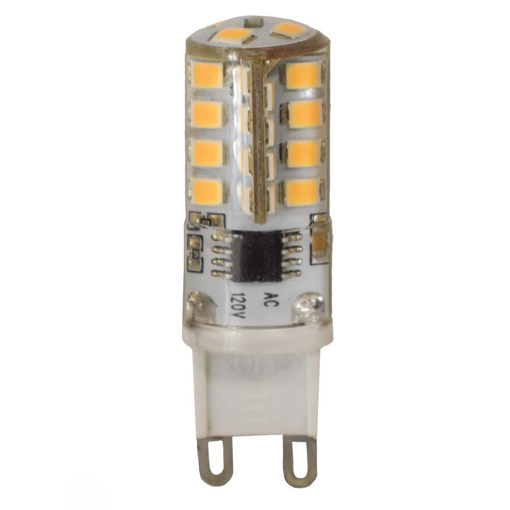 Maxim Lighting 40 Watt Equivalent G9 Soft White Led Light Bulb