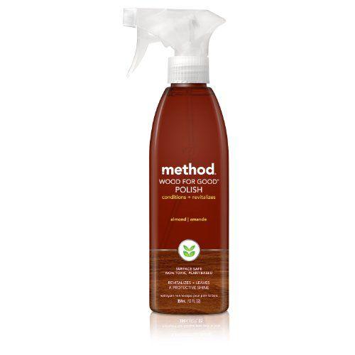 Method Home Care Products Almond Wood Spray For Good Polish 12 Oz