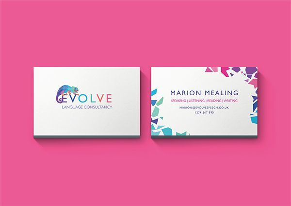 Logo And Business Card Design For Speech Therapist Specialising