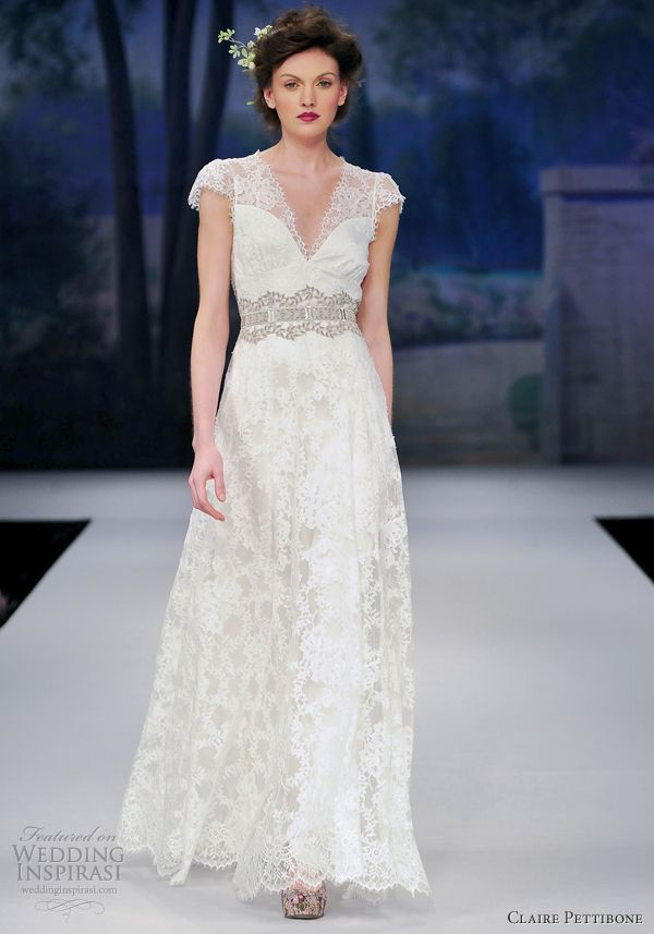 Claire Pettibone Spring 2012 Wedding Dresses | Vow renewal ceremony ...