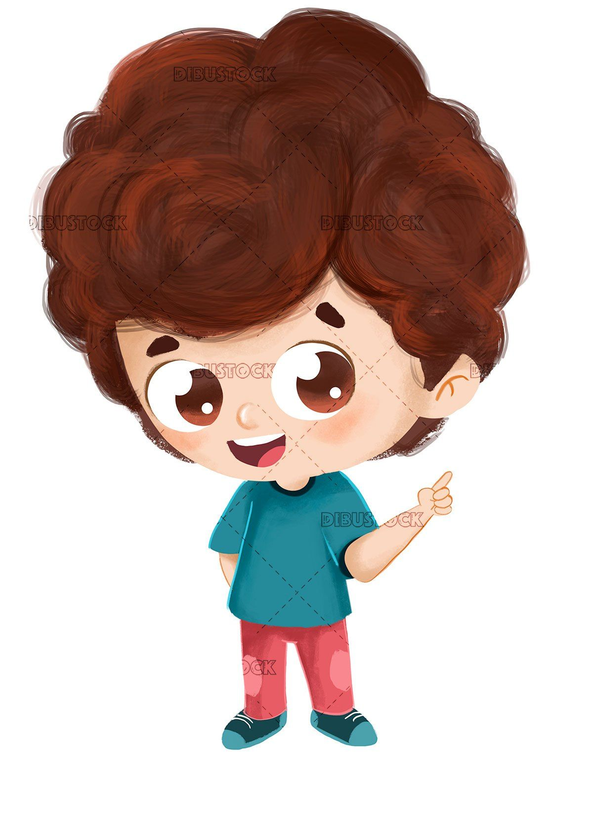 Adorable Boy Pointing Boy Cartoon Drawing Cartoon Drawings Boy Cartoon Characters
