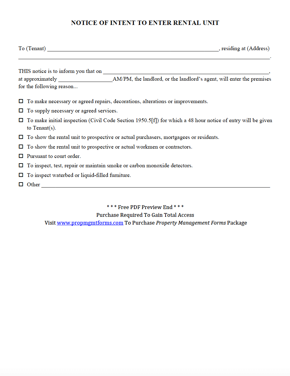 Tenant Rules And Regulations Pdf Property Management Forms