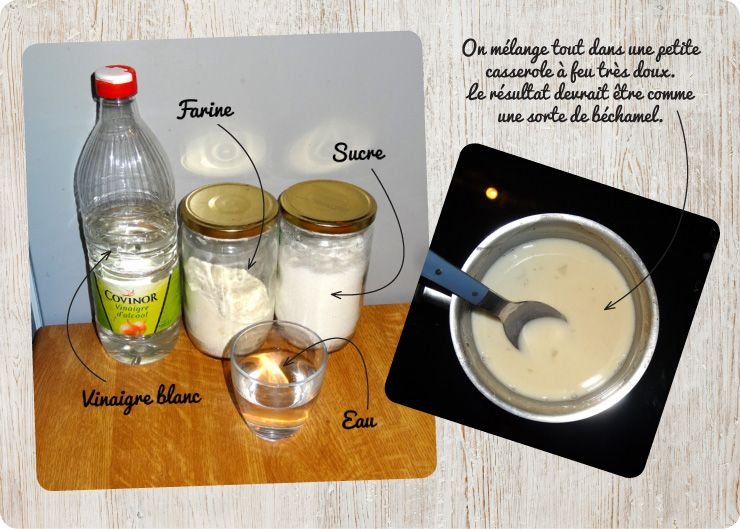 Finest recette colle diy diy fabriquer de la colle colle for Site pour creer sa cuisine