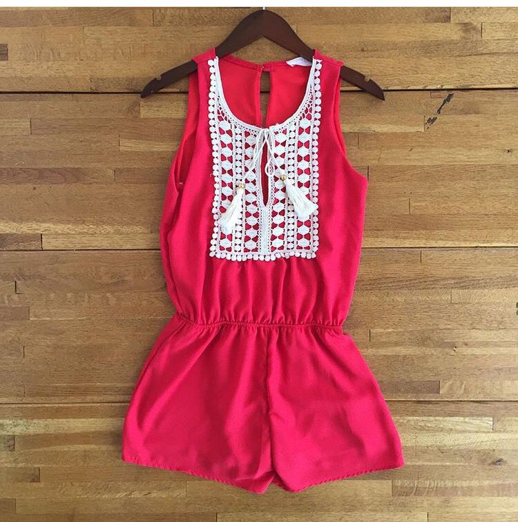 f774460d3aa8 cute romper that s a casual look for teens and Tweens