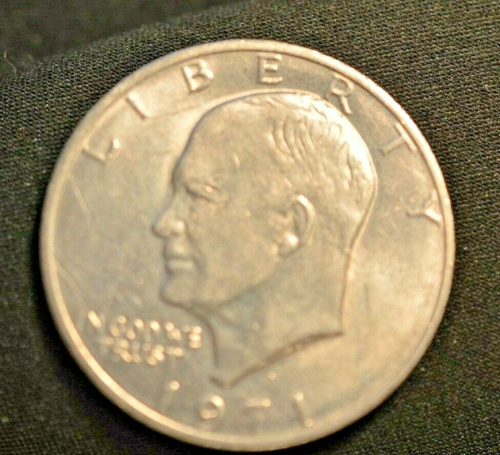 1971 Eisenhower Dollar Coins Collectible In 2020 Coins American Coins Dollar