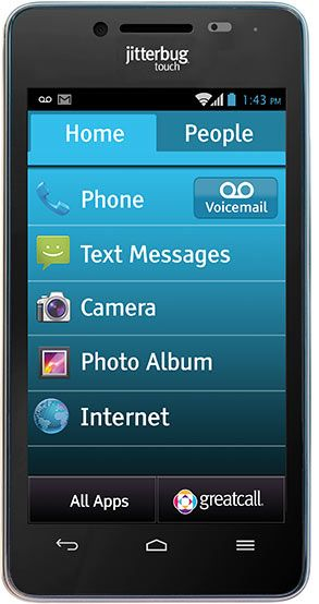 GreatCall's newest smartphone, the Jitterbug Touch 2! Learn