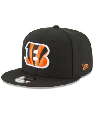 new arrivals 0037f d9241 New Era Cincinnati Bengals Anniversary Patch 9FIFTY Snapback Cap - Black  Adjustable