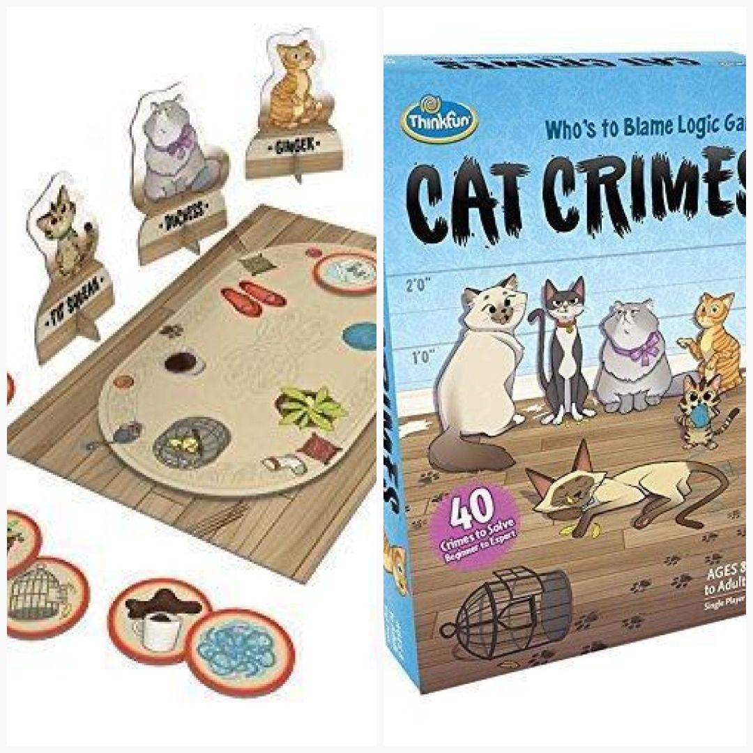 ThinkFun Cat Crimes Logic Game