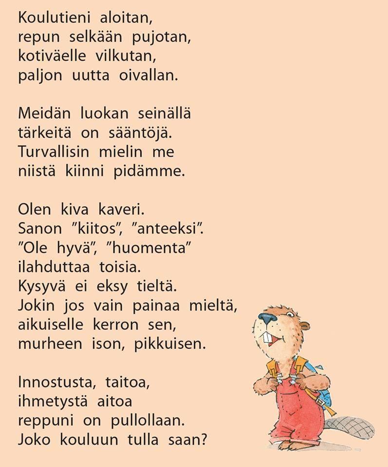 Runo Lapselle