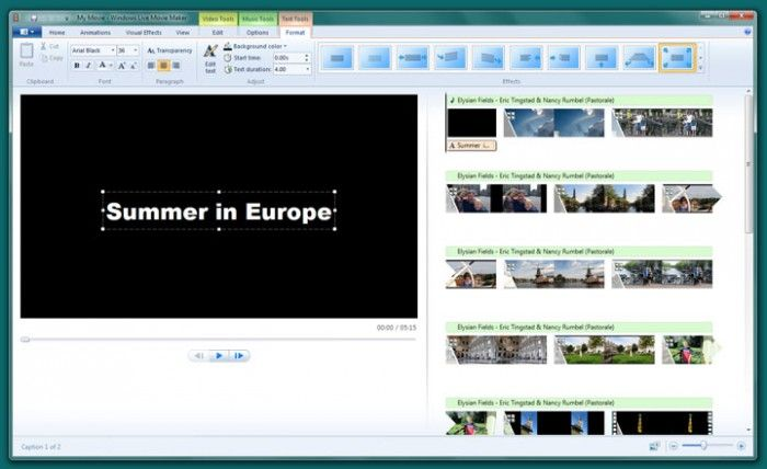 Window Movie Maker Offline Software
