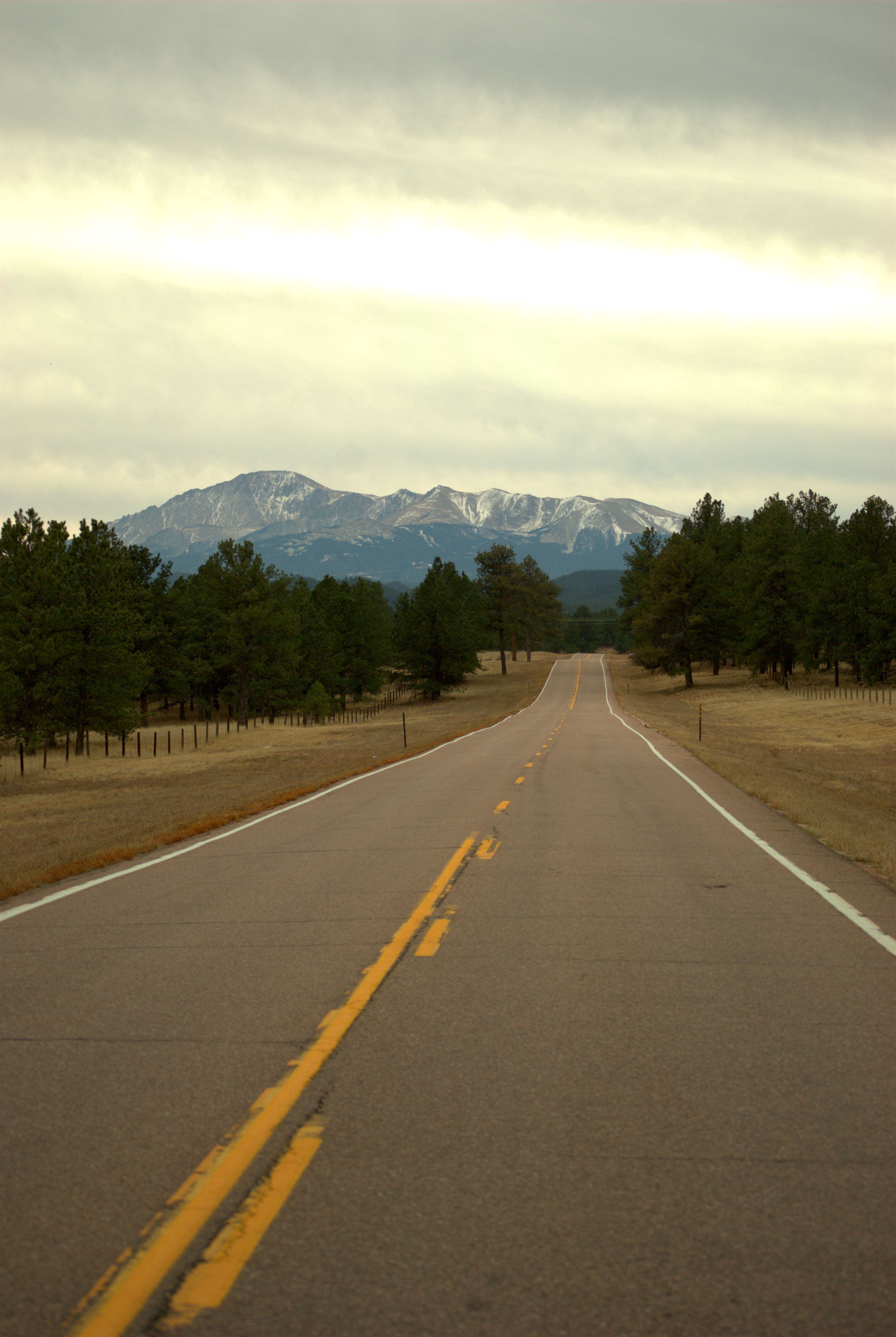 The Lonely Road Ahead Just Outside Woodland Park Co Places To See Woodland Park Favorite Places