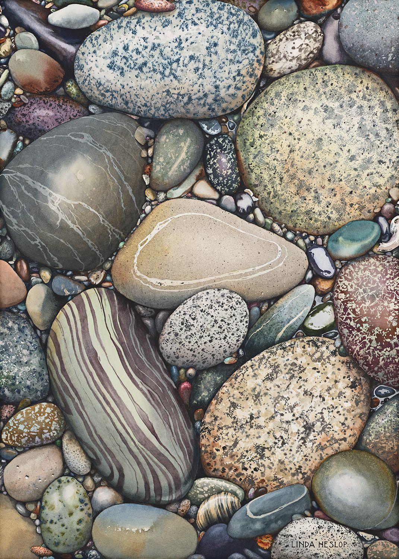 Abundance  glicee  Linda Heslop is part of Stone art -
