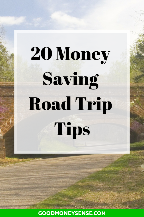 With spring and summer right around the corner, roadtrips are a fun way to see the country while also saving money from more expensive travel options like taking a plane. To make your next roadtrip more budget and wallet friendly, Good Money Sense lists ways you can save money while hitting the road to your destination. #roadtrip #vacation #driving #travel #budgetvacation #frugal #traveling #budgettravels
