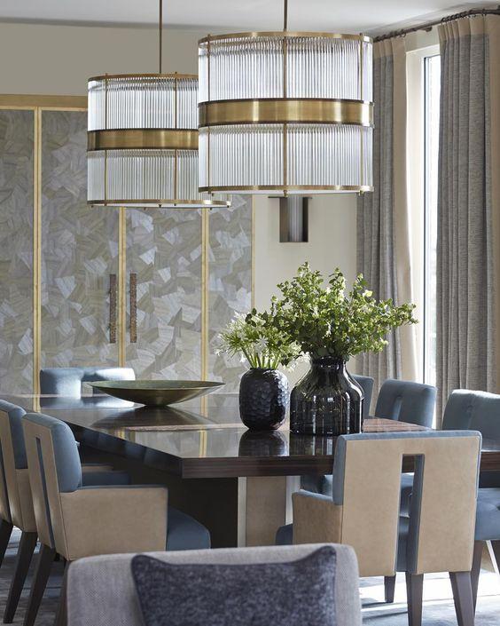 25 Beautiful Neutral Dining Room Designs: Dining Room Design, Interior