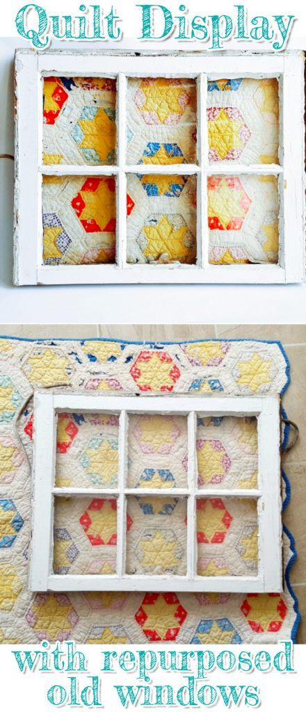 Old Window Frames DIY Ideas and Window Frame Crafts | Window frames ...