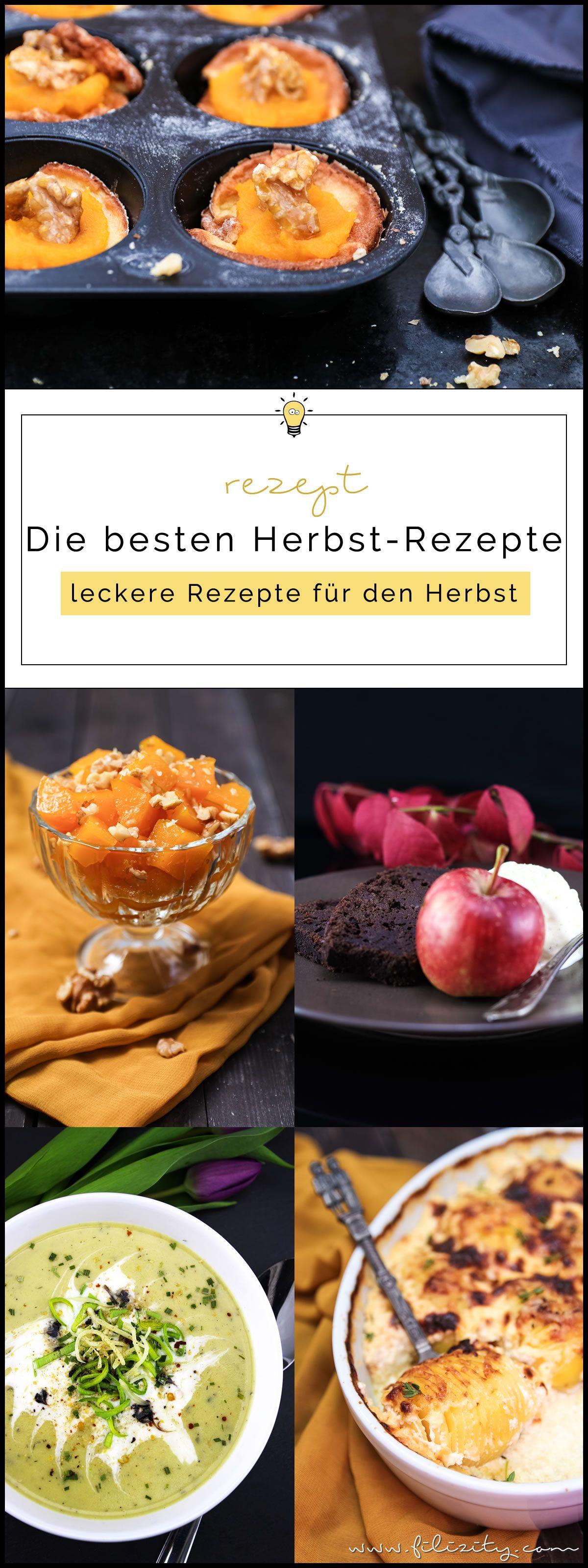 Die besten Herbst-Rezepte | Filizity. Kreativmagazin & Foodblog