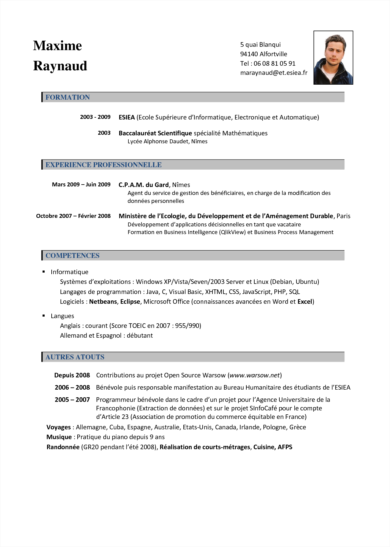 Resume Format Name Address Address Format Resume Resumeformat Resume Format Resume Format