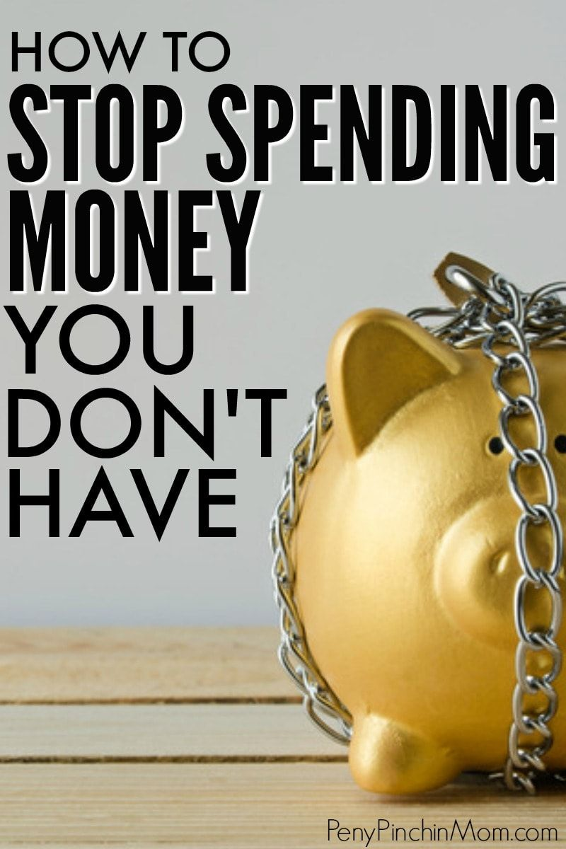 Learn some easy tips to help you stop spending money. You can't save or get out of debt when you keep spending. Simple things that are a must for anyone who wants to learn how to budget and better manage money. #budget #moneymanagement #savingmoney #saving #debt #debtfree