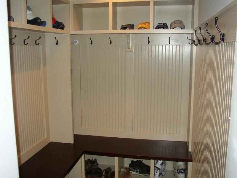 Mudroom Design Ideas 7 clever space usage and rattan accents Mudroom Cubbies Design Ideas L Or U Shaped
