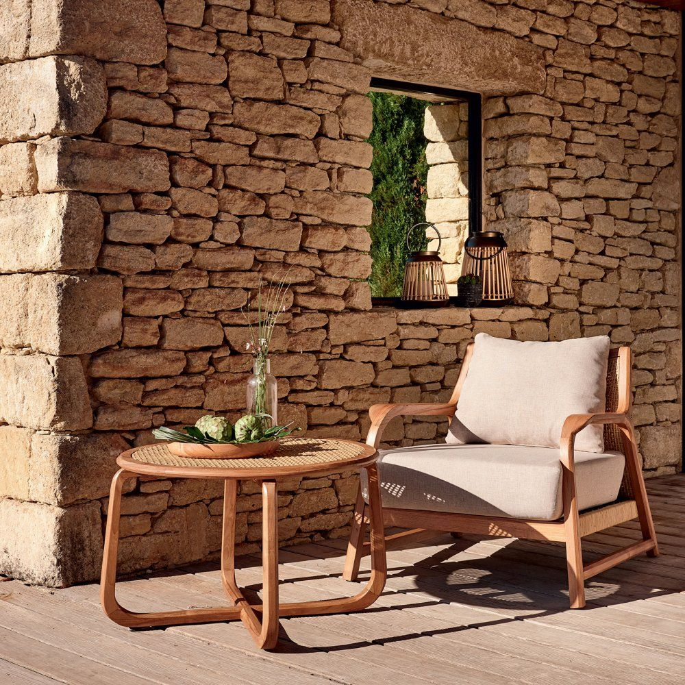15 Salons De Jardin En Bois Pour Un Coin Outdoor Indemodable Table Basse Jardin Table Basse Teck Fauteuil Jardin