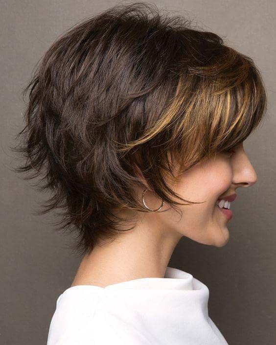 10 einfache Pixie Haircut Styles & Farbideen #womensstyleandtrends