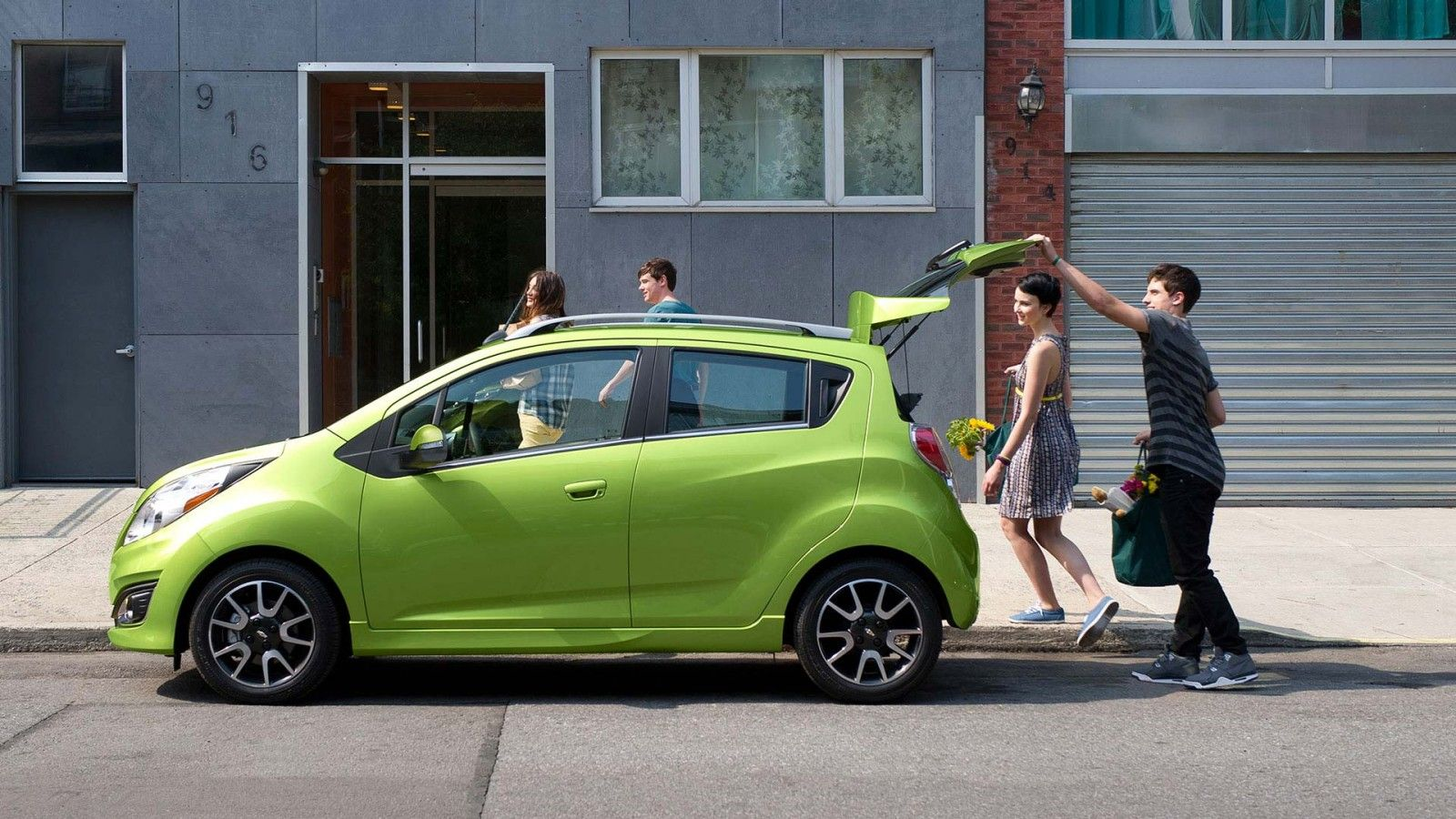 2015 Spark Fuel Efficient Car Exterior Pictures Chevrolet Spark