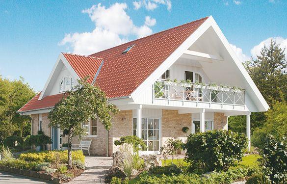 Welche Hausfarbe Zu Rotem Dach stockholm häuser und grundrisse fertighaus und energiesparhaus