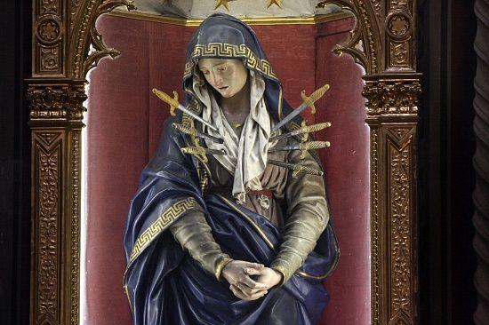 Nossa Senhora Das Dores As Sete Dores Da Virgem Maria Our Lady