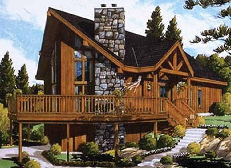 1500 Foot 1 Level Square Cabin