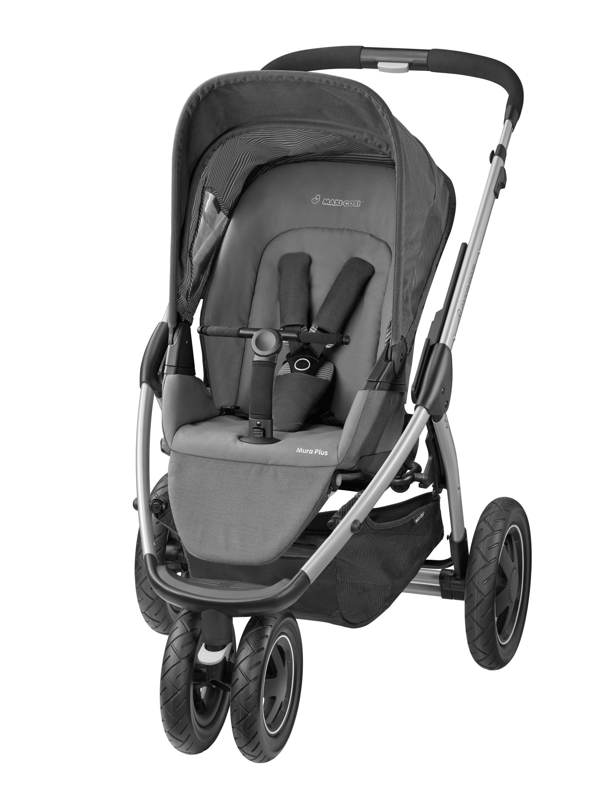Maxi-Cosi Mura Plus Pushchair - Concrete Grey | Stroller, Maxi
