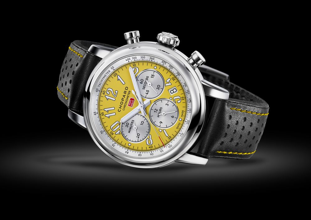 091f2de5c30 Chopard Mille Miglia Speed Yellow #chopard #chopardwatches #watchtime # Baselworld2018