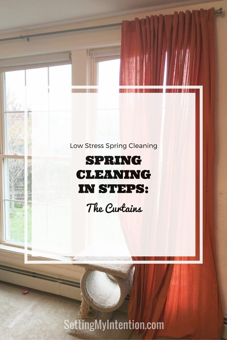 I don't know about you, but my house really needs a thorough spring cleaning. I've decided on a low stress spring cleaning that keeps things simple. No spring cleaning checklists, no timelines, just tackling one project at a time.