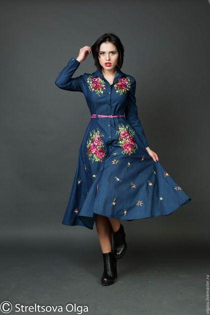 0af8bf9ea2d Джинсовое платье