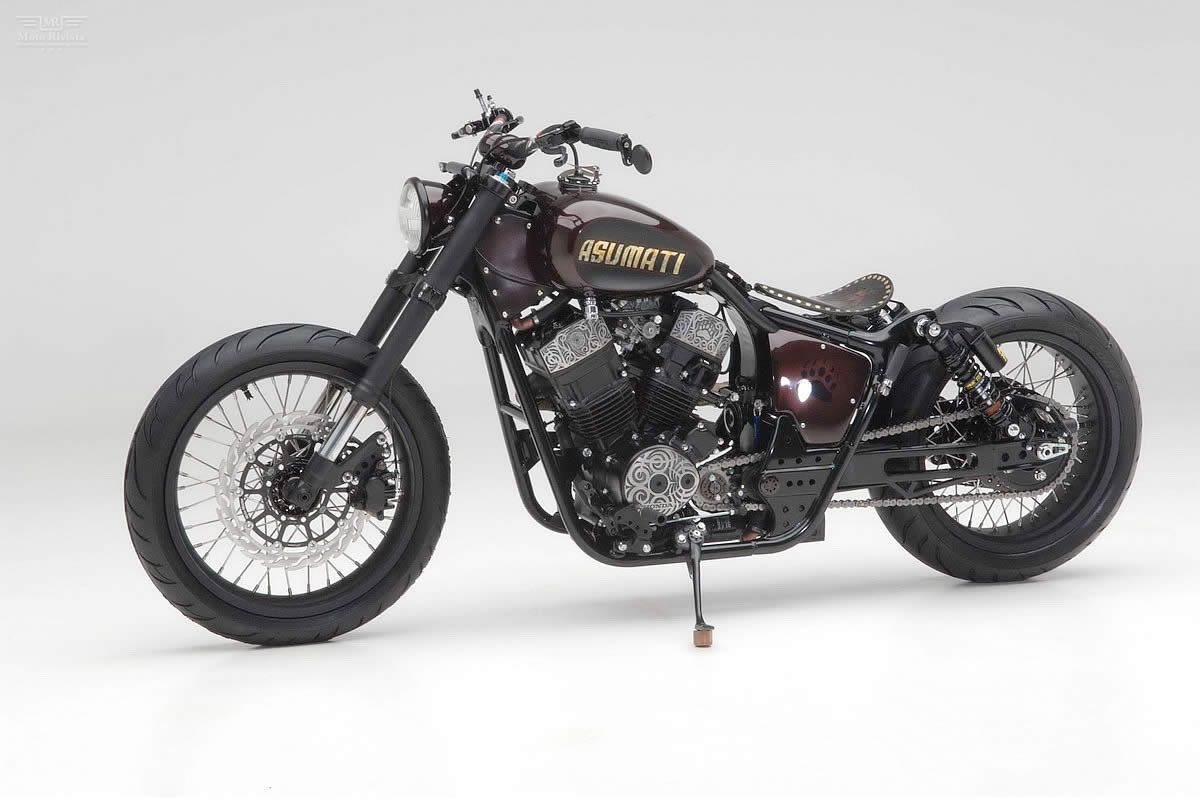 Honda Shadow 750 Cafe Racer Moto