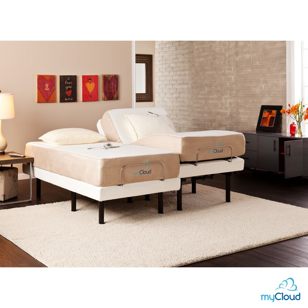 myCloud Adjustable Bed Split Kingsize with 10inch Gel