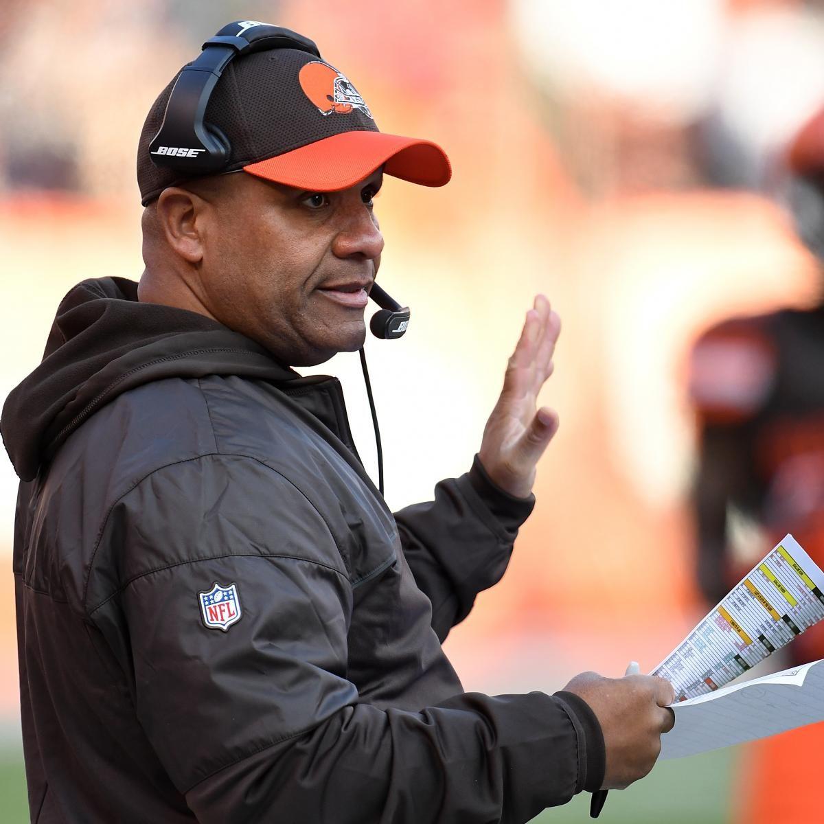Hue Jackson Will Return as Browns Head Coach Despite 016