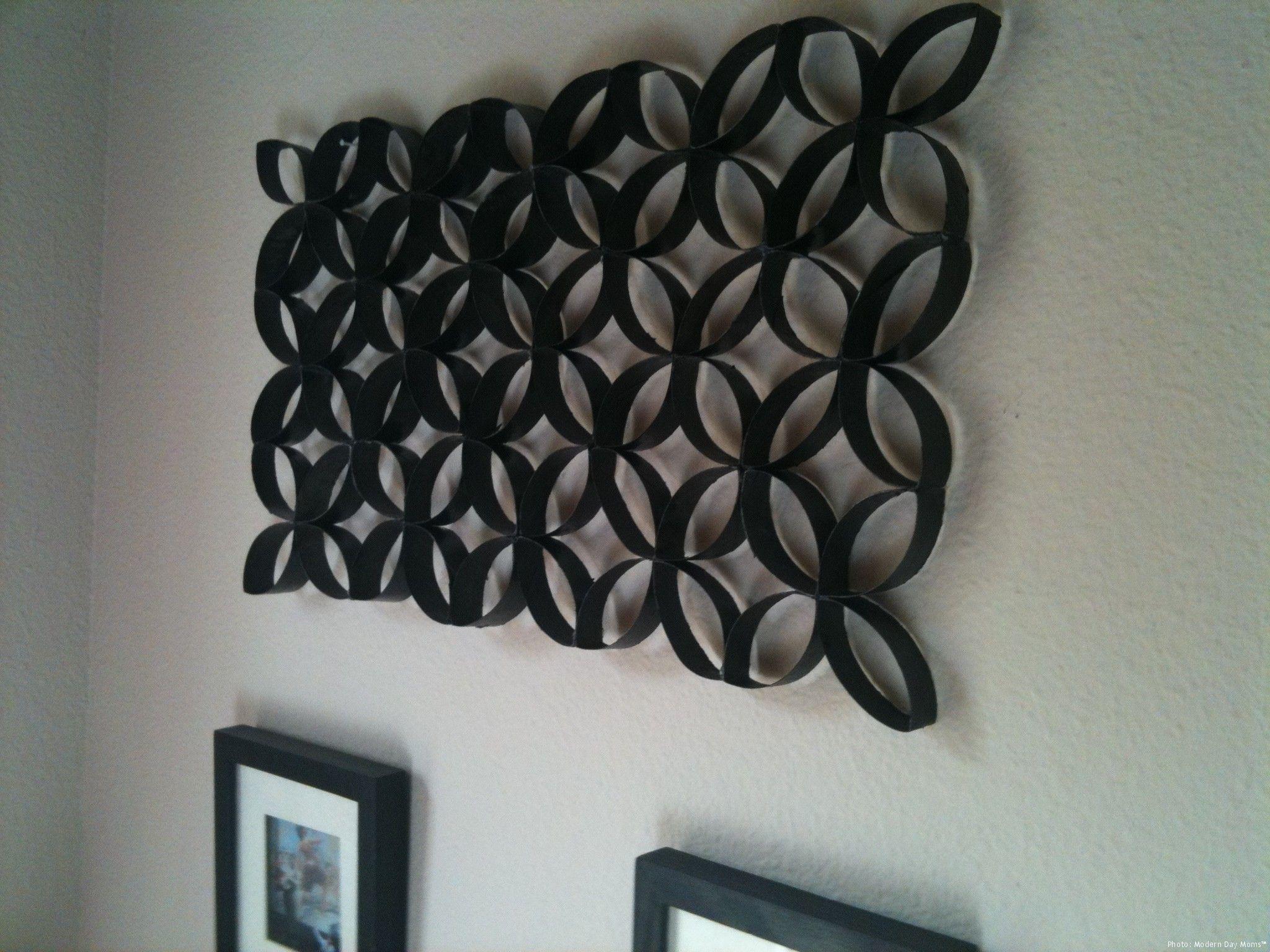 Paper Towel Toilet Paper Roll Wall Art Seni Kertas Ciburial