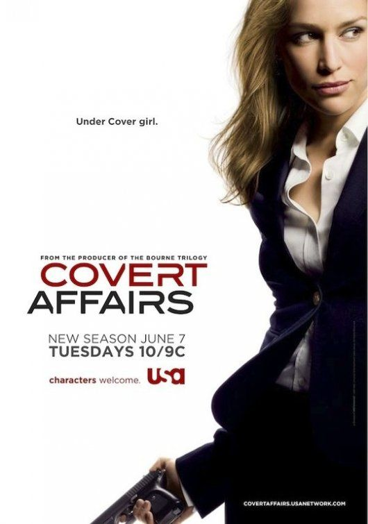Image detail for -Covert Affairs TV Poster #2 - Internet Movie Poster Awards Gallery