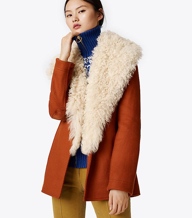 Pin by ejaz43809 on Outerwear | Tory burch, Coat, Outfits