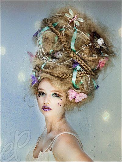 Crazy Yet Scary Halloween Hair Ideas For Girls & Women 2013/ 2014 | Girlshue