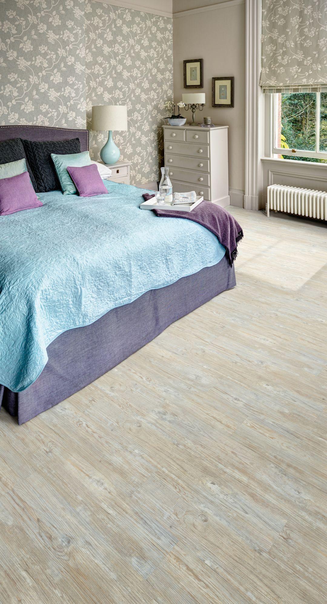 White Limed Oak Camaro luxury vinyl tile flooring featured