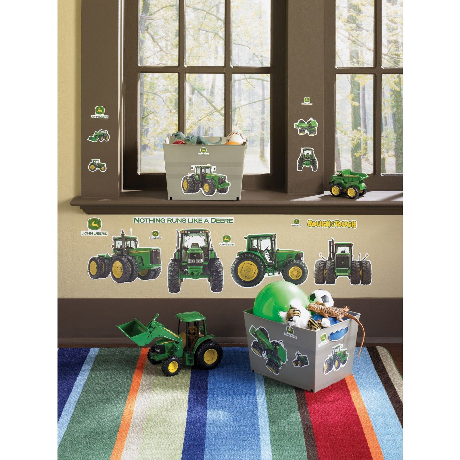 John Deere Removable Wall Decorations I know a little boy ...