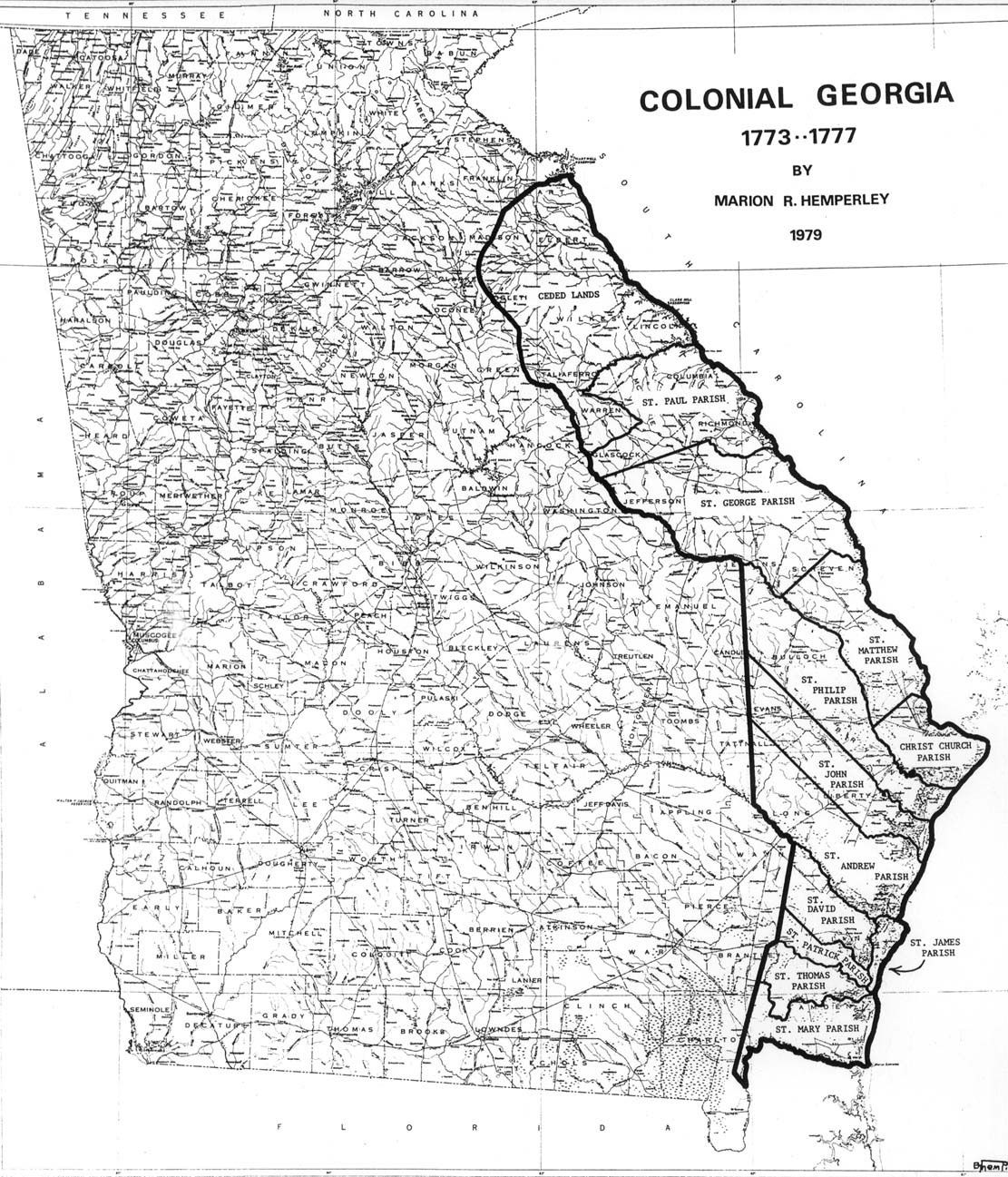 Map Of America Georgia.Map Of Georgia Parishes Genealogy Family Genealogy Family