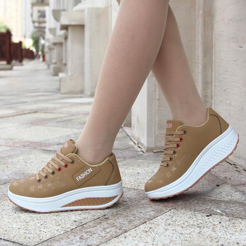High Platform Sneakers - Comfort Line