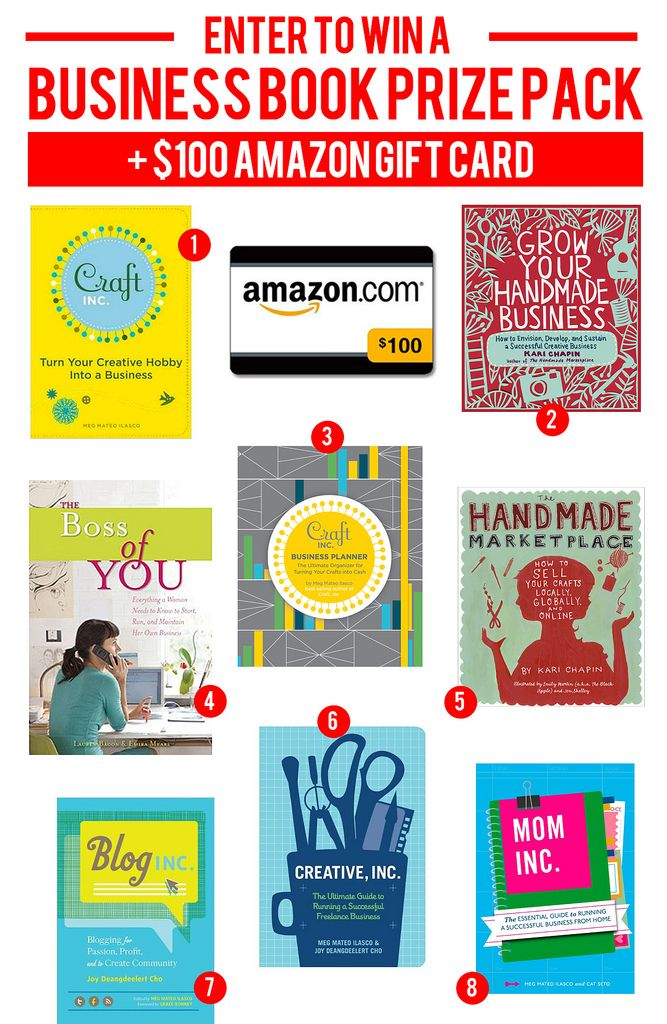 Julys Giveaway - Win My 8 Favorite Business Books + $100 Amazon Gift ...